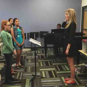 I love teaching singers of all ages!