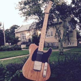 A big tele somewhere in Belmar New Jersey.