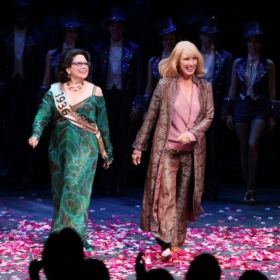 "Taking my bow in ""Follies"" revival on Broadway.