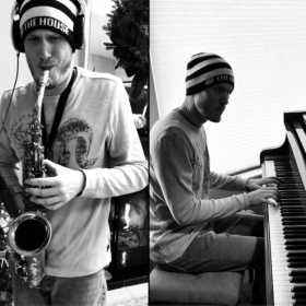 """Piano and saxophone """"duet"""""""