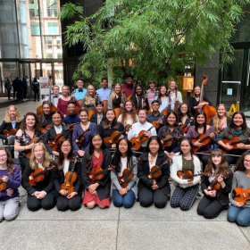 So grateful to have been able to work with the Clovis High Sting  Chamber on their way to play to Carnegie Hall!