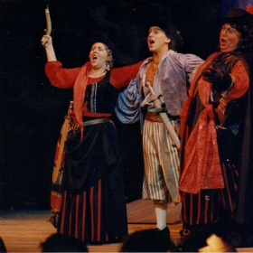 As Frederic in Pirates of Penzance
