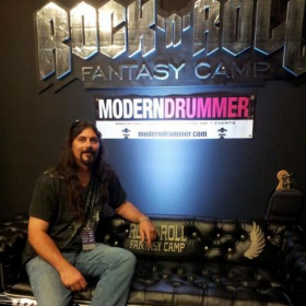 Won a free weekend to the Rock N Roll Fantasy Camp in Los Vegas! In a song writing contest!
