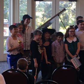 We have 4 Piano Recitals Per Year. This is our HALLOWEEN RECITAL, 2018