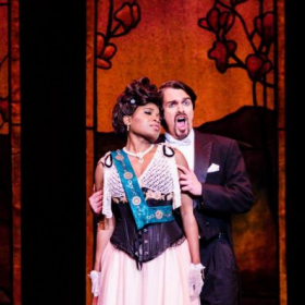Performing the role of Camille in The Merry Widow in Baton Rouge, Louisiana