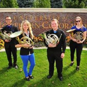 My quartet during my time in grad school at the University of Northern Colorado.