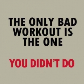 Self explanatory - no matter what you do, by doing SOMETHING you're lapping everyone on the couch.