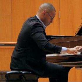 A solo piano recital for the Colour of Music Festival held at the University of Houston Moores School of Music