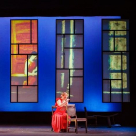 Melanie as Elaine O'Neill in John Musto's Later the Same Evening with Opera at USC