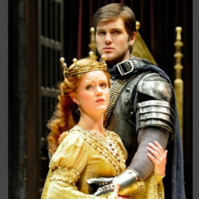 as Guenevere in CAMELOT