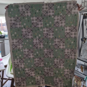 Beginning quilting student, online lessons.