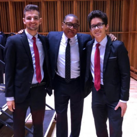 Performed with Wynton Marsalis!