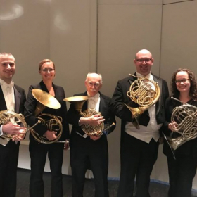 Performing assistant horn with the Springfield Symphony Orchestra