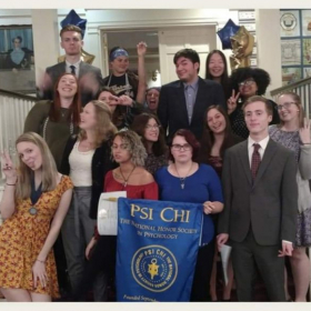 Psi Chi Officers Induction 2018