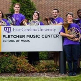 I attended East Carolina University and received my Bachelor's in K-12 Music Education.