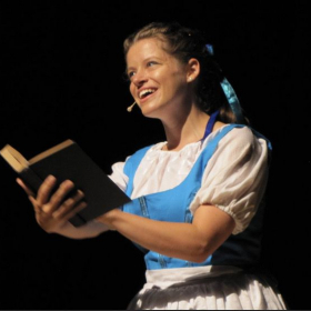 Belle in 'Beauty and the Beast' with Ja'Duke Center for the Performing Arts Summer 2016