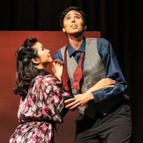 Here I am playing the role of the Komponist in Ariadne auf Naxos