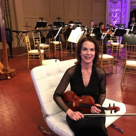 Preconcert warmup for the Pittsburgh Opera Orchestra's New Year's Eve Gala.