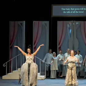 """Phyllis Meredith Photography, Jessica as Noemie in Massenet's """"Cendrillon"""" at the Jorgensen Performing Arts Center 2018"""