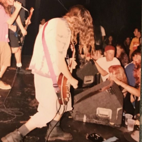 Live at the Whiskey a go go in Hollywood Ca. With my highschool grunge band Mind Riot.