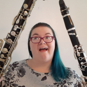 I love clarinet and bass clarinet! Bass clarinet is my favorite auxiliary clarinet to play, hands down.