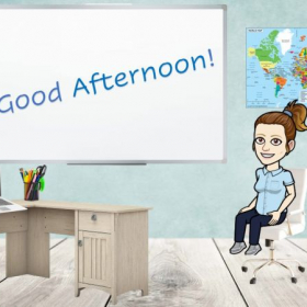Bitmoji Virtual Classroom Slide 2