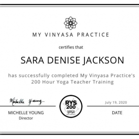 200-hour Yoga Teacher Training Certification