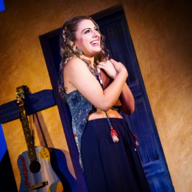 Emily as 'Sophie' in Mamma Mia!