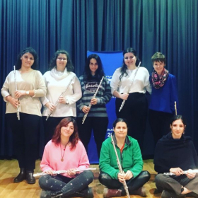Flute masterclass in Thessaloniki, Greece!