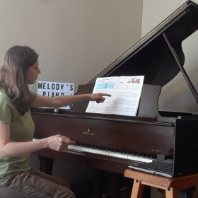 teaching online piano lessons, 2020