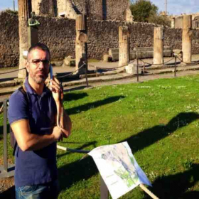 Thousands of years of history that we can talk about!  Pompei, Italy 2017