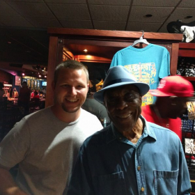 Buddy Guy and Me at Legends Blues Club, Chicago, IL