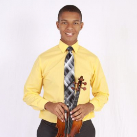 Headshots for ICYOLA in 2014 when I debuted as violin soloist!