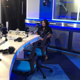 """My interview with DubaiEye Radio as an Artist. """"connection is a key"""""""