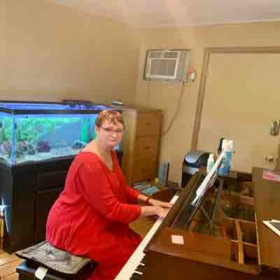 I have 3 pianos in the studio and getting ready to practice