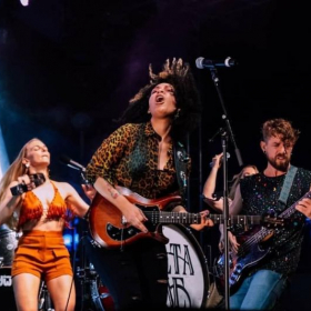 """Performing with Delta Rae on Train's """"Sail Across the Sun"""" Cruise"""