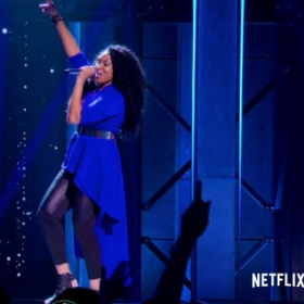 Chaneé singing on the Netflix Series Sing On