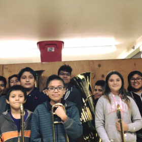My brass students in Albuquerque, NM.