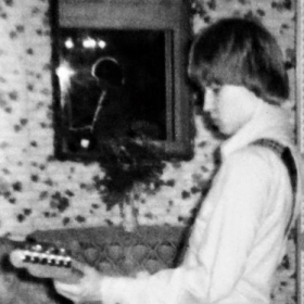 My first electric guitar, a 1977 Fender Custom Telecaster.  Photo taken 1978.