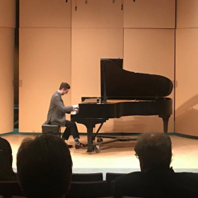 Performance at the University of Hartford (Hartt School of Music, Dance, and Theatre)