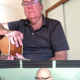 Here's me teaching Tom how to count quarter note triplets