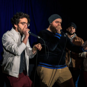Forest Fire at the 2019 American Beatbox Championships.