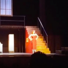 Singing Adele's 3rd Song in Die Fledermaus at CSULA