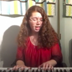 I have a keyboard. I can play warmups, melodies and chords. I am also constantly working on my piano and tech skills!