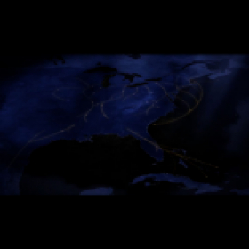 Map animation showing Underground Railroad routes
