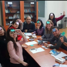 Oct 2018 I taught English to college students in Armenia. It was exciting to meet new people & a new culture & grow myself as a teacher!