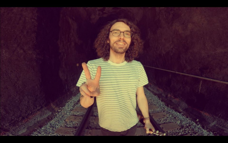 I like to find cool locations and record videos of me performing cover songs on the ukulele.