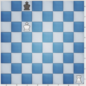 White has checkmate in just one move.