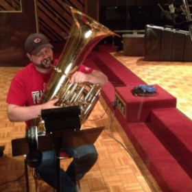 Recording session with King's Brass