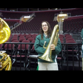 Basketball Band while I was a student at Eastern Michigan University.